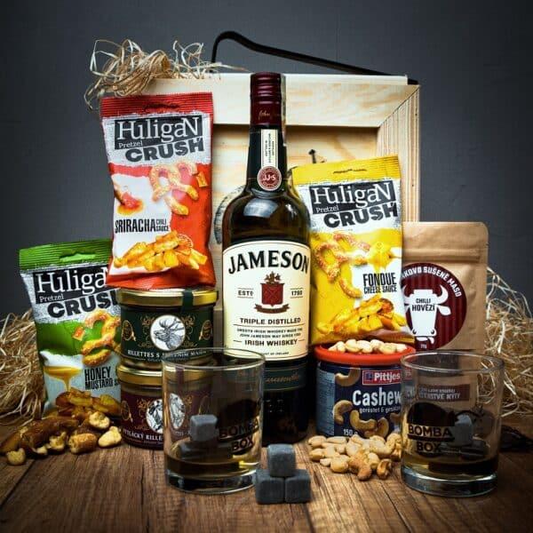 Bedna Jameson Irish Whiskey