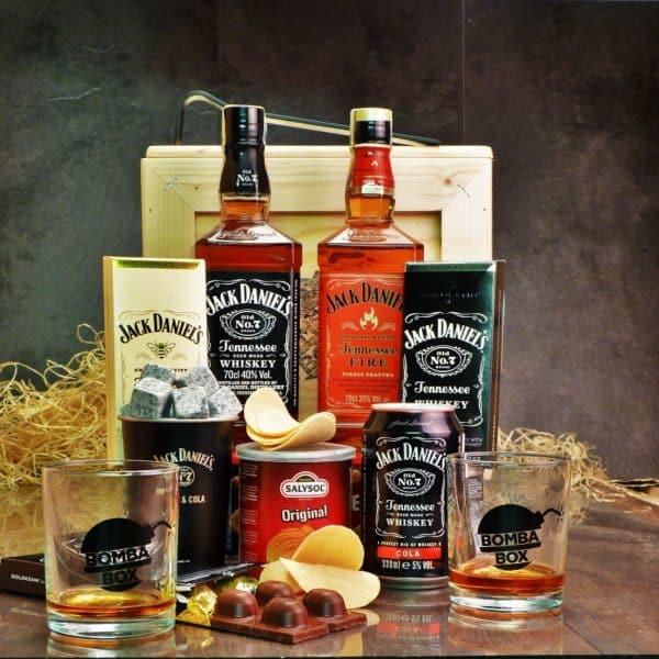 Bedna Jack Daniel's & Fire