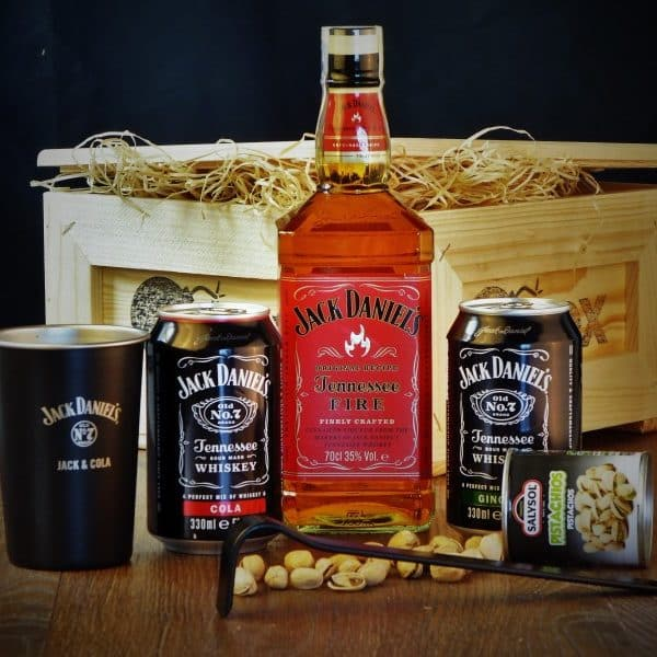 Bedna Jack Daniel's Fire malá