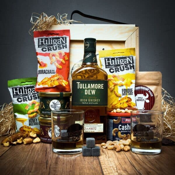 Bedna s whiskey Tullamore DEW Original