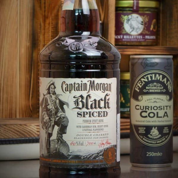 Kanystr Bar Captain Morgan Black