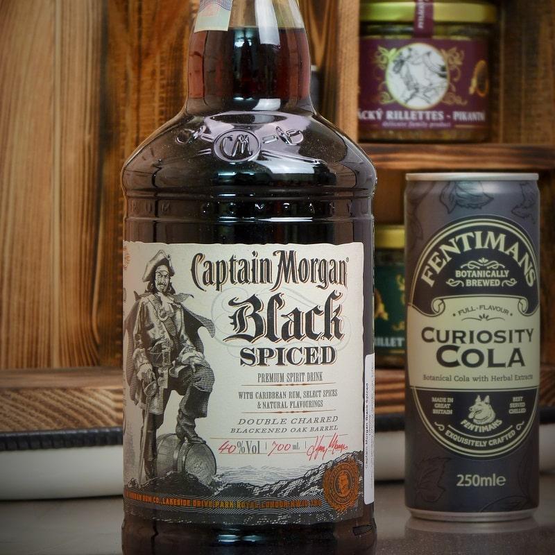 Kanystr Bar Captain Morgan Black Spiced