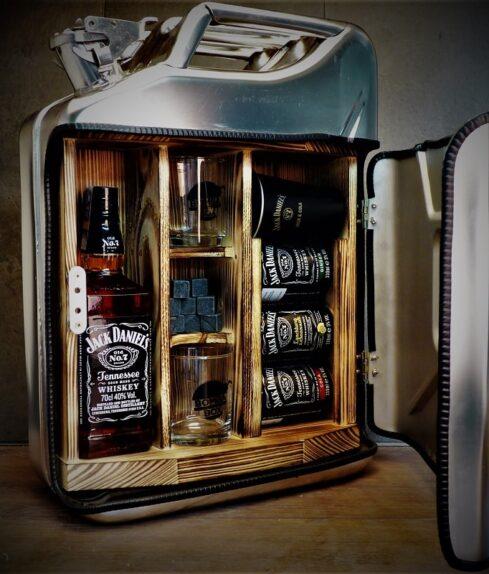 Kanystr Bar Jack Daniel's nerezový