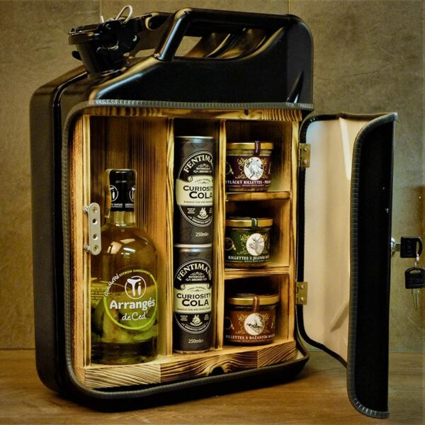 Kanystr Bar Ti Arrangés de Ced' Citron Gingembre