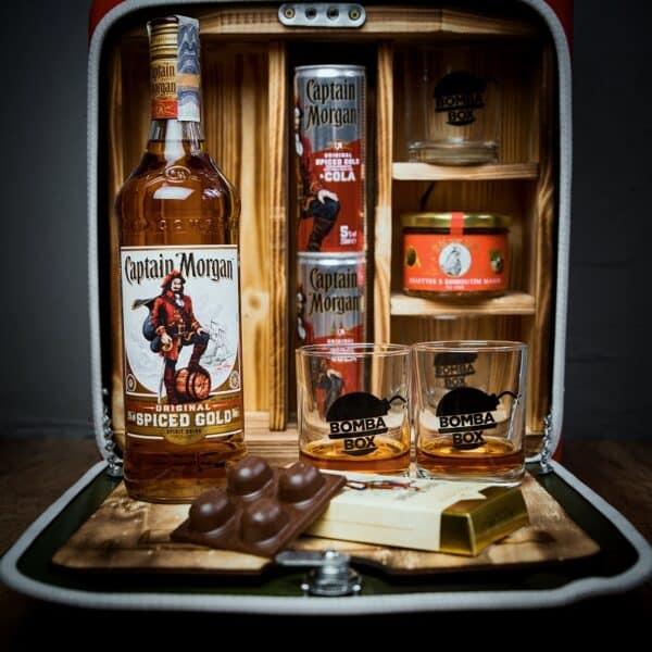 Kanystr Bar Captain Morgan Original Spiced Gold