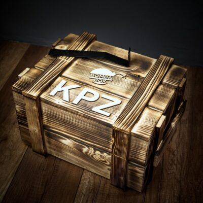 Dárková dřevěná bedna KPZ – maxi
